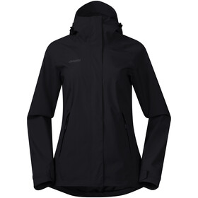 Bergans Ramberg 2L Insulated Jas Dames, black/solid charcoal
